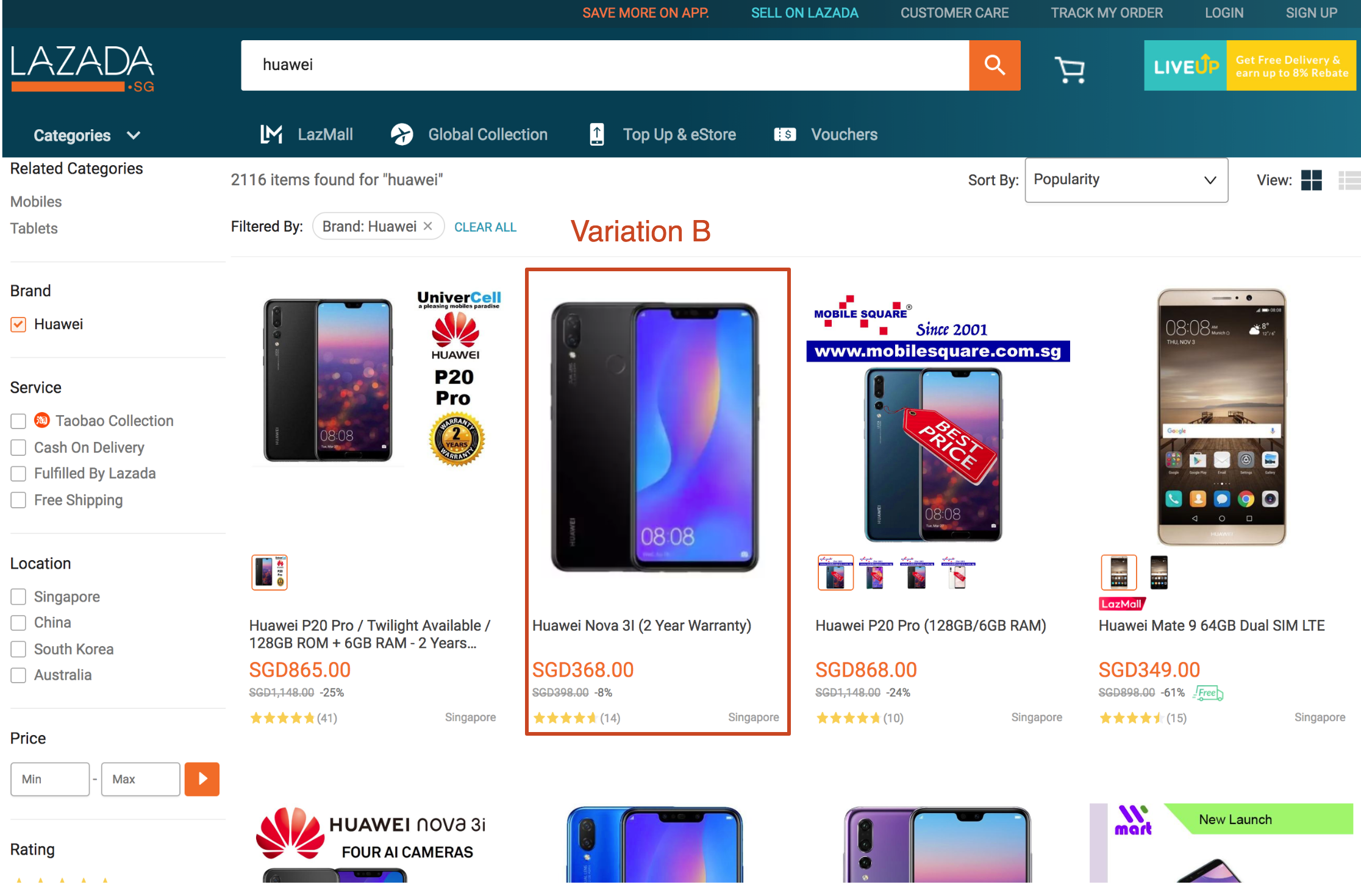 Lazada Sellers Product Listing Optimization AB Testing - Lazada Seller Tools - Split Dragon 2