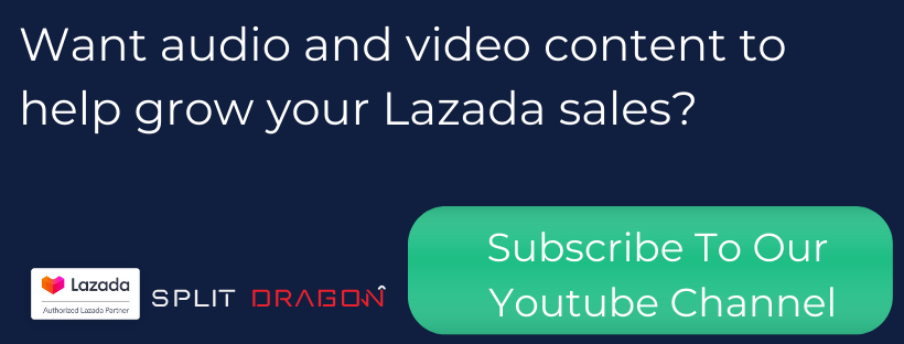 lazada seller audio and video