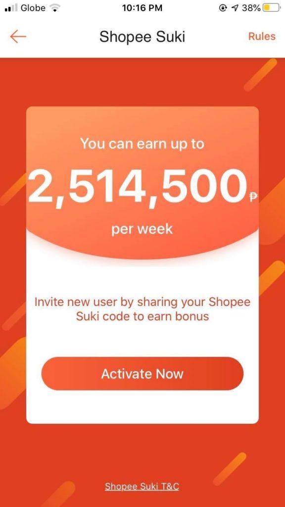 Shopee Suki Program