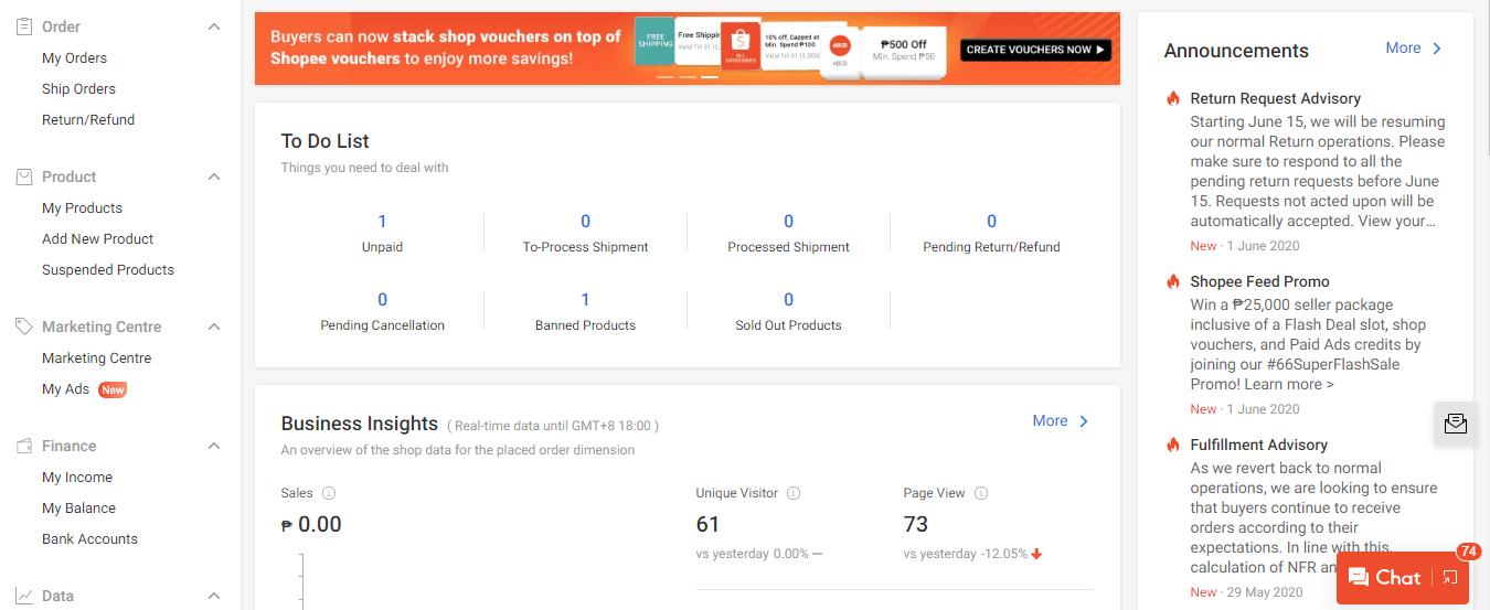 Shopee Seller Center - An Overview